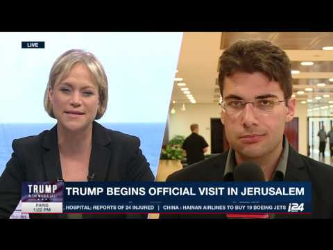 Experts discuss Trump's visit to Israel and a possible peace deal