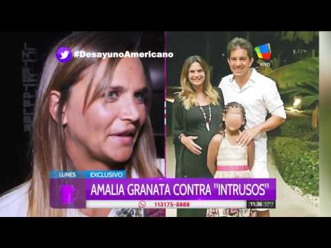 Amalia Granata furiosa con Intrusos: No le tengo miedo a Rial