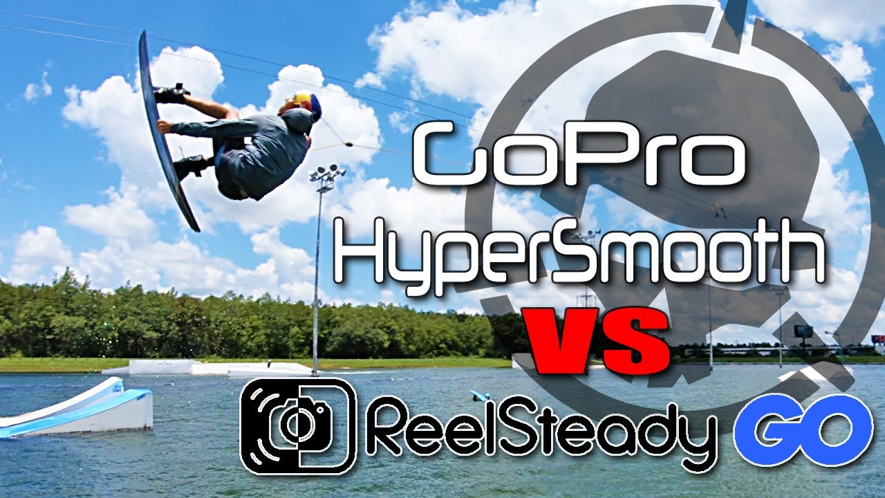 GoPro HyperSmooth vs ReelSteady GO - FPV Stabilization Software Comparison