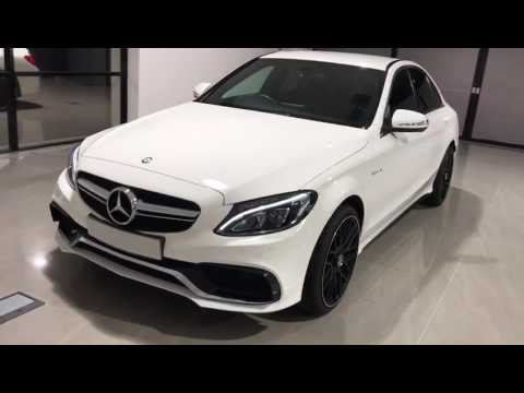 white mercedes benz w205 c class c63 s facelift conversion. Black Bedroom Furniture Sets. Home Design Ideas