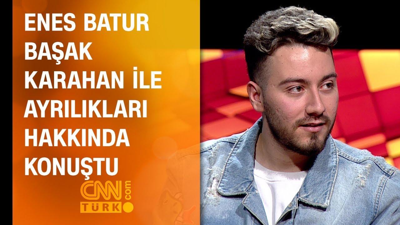 Enes Batur, Başak Karahan ile ayrılıkları hakkında konuştu