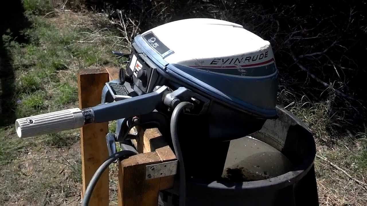 Don Johnson Motors >> 1966 9622A Evinrude 9.5HP after service - YouTube