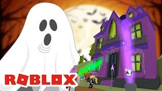 ROBLOX INDONESiA | Ein WALK TO THE HAUNTED HOUSE 😘