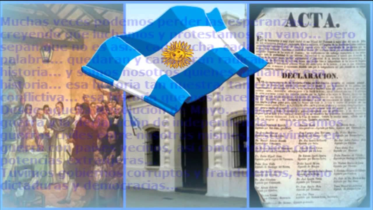 Acto 9 de julio video final youtube for Decoracion 9 de julio secundaria