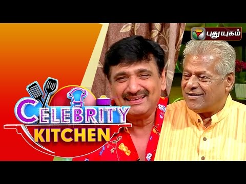 Actors Delhi Ganesh & Ramesh Kanna In Celebrity Kitchen | 29/11/2015 | Puthuyugam TV