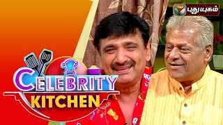 Actors Delhi Ganesh & Ramesh Kanna in Celebrity Kitchen | 29/11/2015
