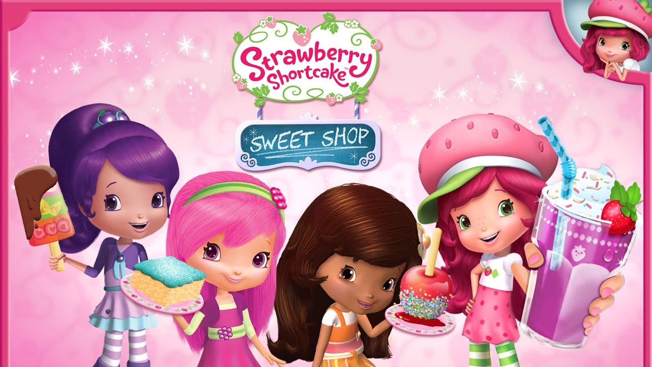 Strawberry Shortcake Sweet Shop Candy Maker Game App For