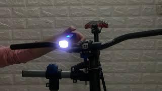 Giới Thiệu Đèn Xe Đạp Machfally Sạc USB