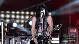 KISS Download Festival 2015 Rock And Roll All Nite