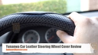 Yunanwa Car Leather Steering Wheel Cover Review