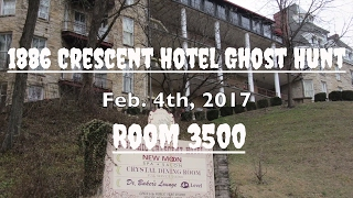 1886 Crescent Hotel Ghost Hunt 2017 - Room 3500