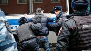 Более 300 задержанных в Москве / Новости
