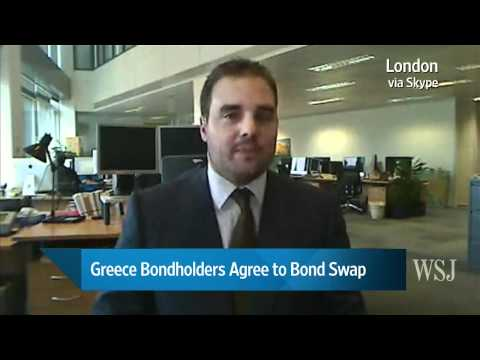 Greece Bondholders Agree to Bond Swap