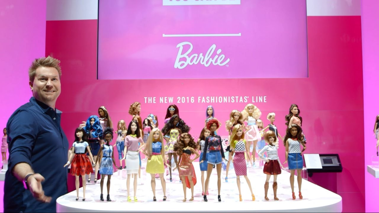 Barbie® Fashionistas™ Unboxings From New York Toy Fair