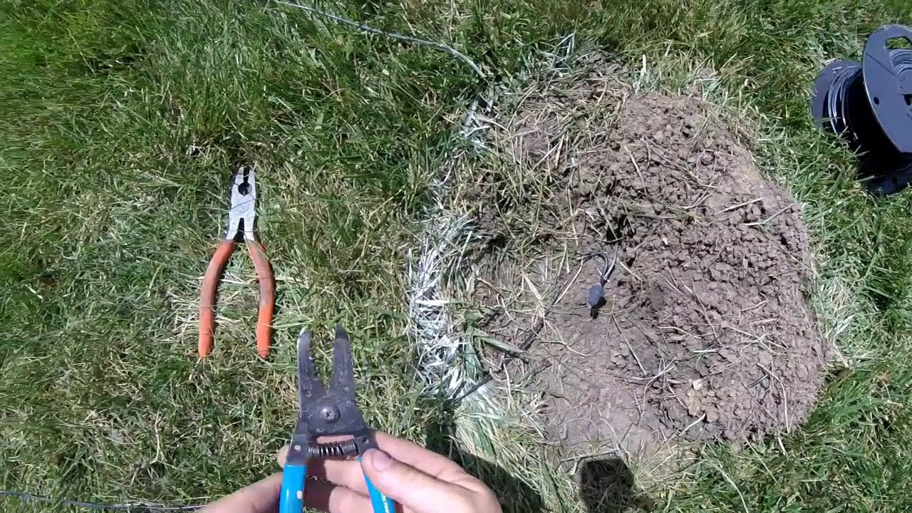 Easy Fix Underground Dog Fence Wire Invisible Fence