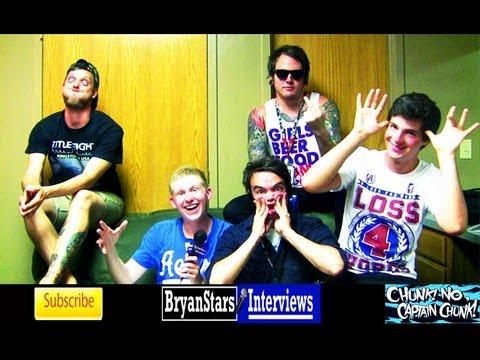 Chunk! No, Captain Chunk! Interview #3 Featuring Alex Koehler Warped Tour 2012