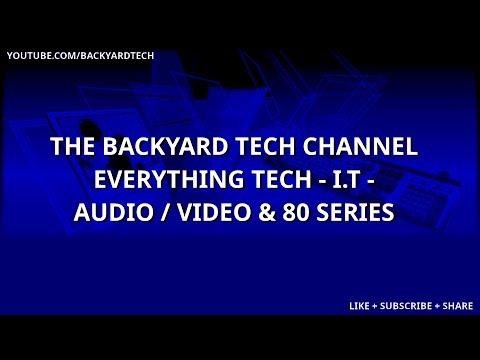 Backyard Tech TGIF Live Stream Conversations