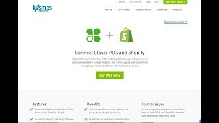 Integrate your clover pos with shopify in minutes! sync inventory, create new products and orders from to clover. https://www.kosmoscentral.com/...