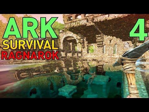 4] Sunken City and 5000 Imported Dodos?!? (ARK Ragnarok