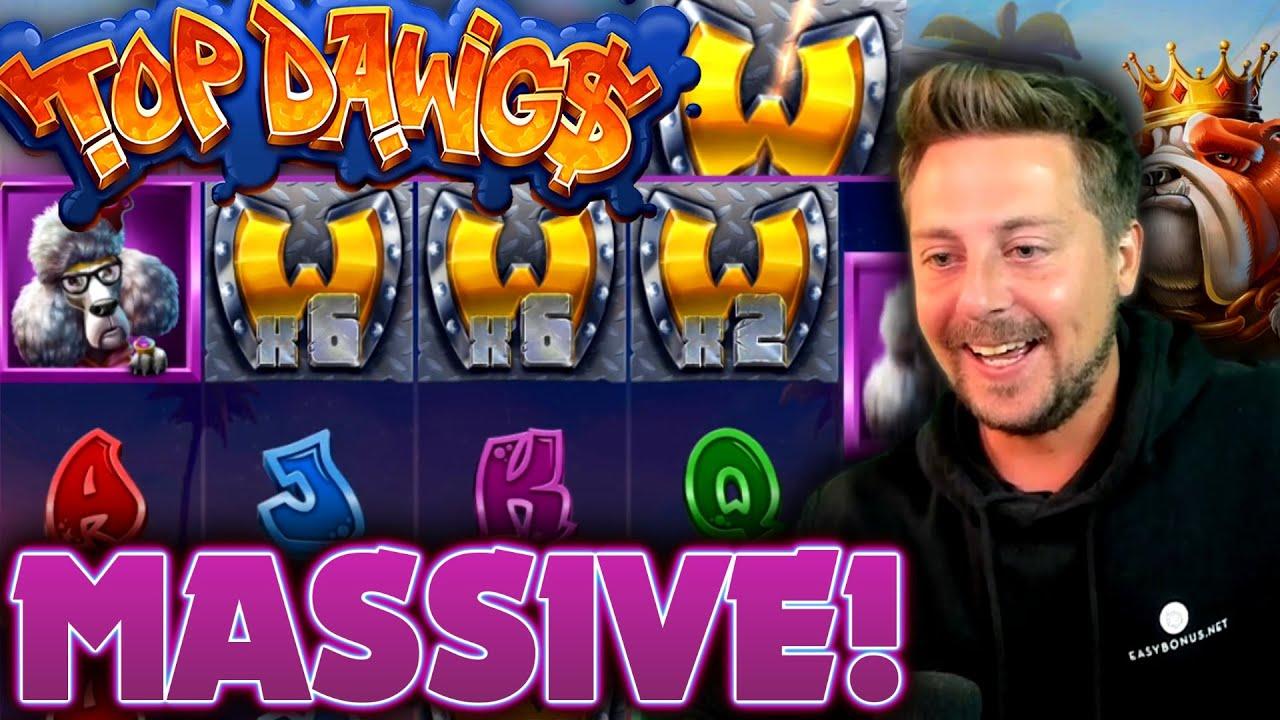 Top Dawgs Slot MEGA WIN!