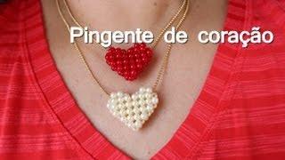 NM Bijoux - Colar com pingente de Coração