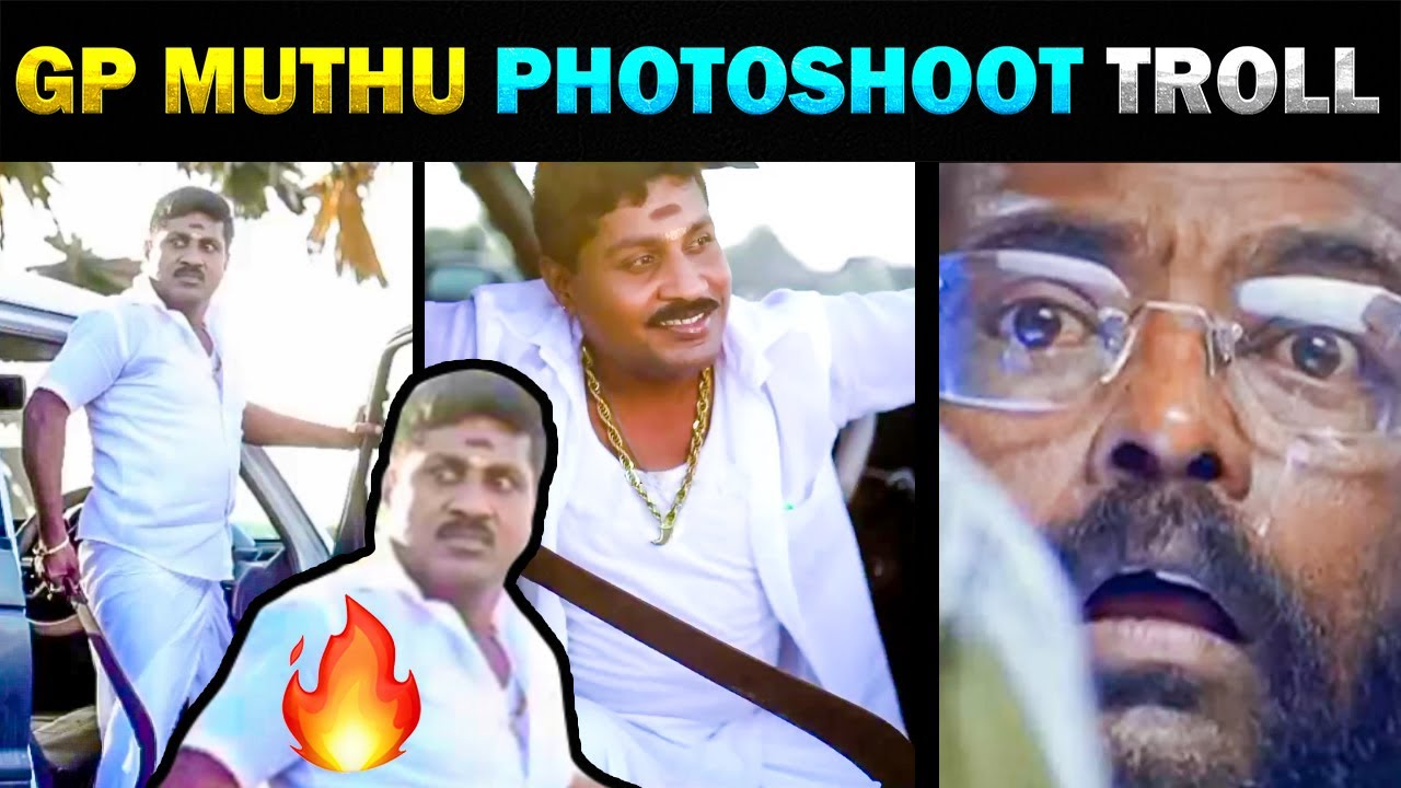 GP MUTHU NEW PHOTOSHOOT FOR MOVIE TROLL - TODAY TRENDING