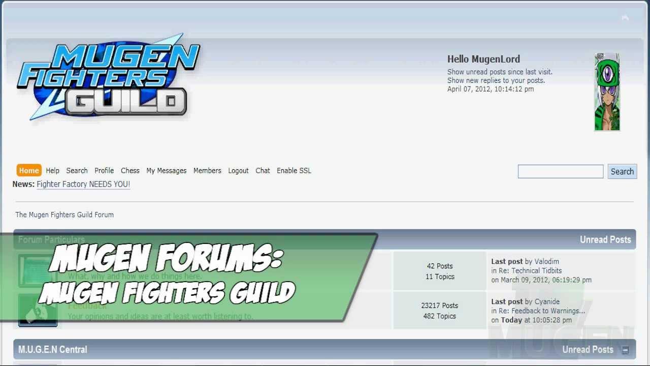 mugen guild forum