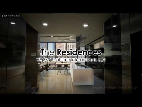 The Residences - VR 360 Unreal Engine 4 Interactive Architectural Visualization (Malaysia)