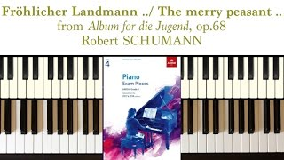 The Merry Peasant (op.68, no.10) by R. Schumann