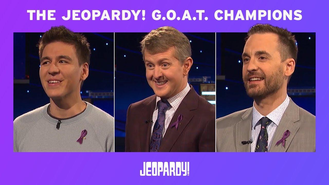 Ken Jennings is the 'Jeopardy!' GOAT, wins $1 million