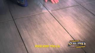 THE TILE & GROUT BUSTER