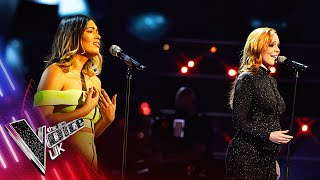 Stephanee Leal VS Nadia Eide - 'Love Is A Battlefield' | The Battles | The Voice UK 2021
