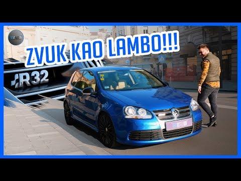 GOLF 5 R32 /// ZVUK KAO LAMBO!!!