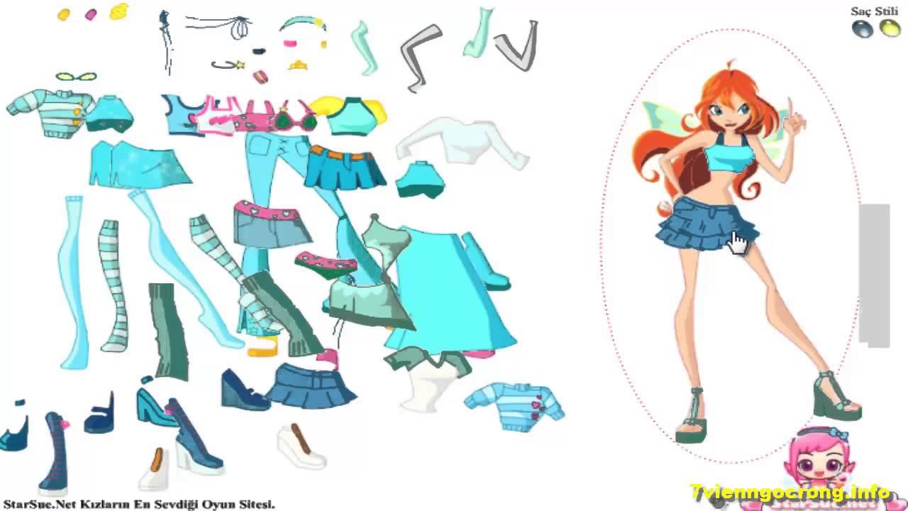 Game thời trang winx