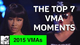 The Top 7 Moments of the 2015 VMAs | MTV News