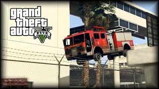 GTA 5 Online - Robbery Roundup - #3 Water Cannon of Doom