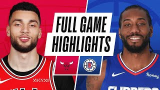 BULLS at CLIPPERS | FULL GAME HIGHLIGHTS | January 10, 2021