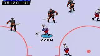 ESPN National Hockey Night [Sega Mega Drive]
