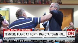 Heated Town Hall in North Dakota