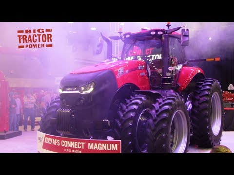 New 2020 Case IH MAGNUM AFS Connect Tractor Unveiled