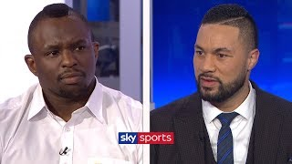 EXCLUSIVE: Dillian Whyte and Joseph Parker come face-to-face ahead of heavyweight clash on July 28