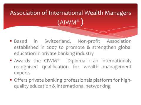 Careers In Private Banking & Wealth Management