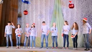 """Новогодний КВН 2014/2015 """"По волнам юмора!"""" (2)"""