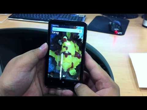 WindowsPhone 7 HTC HD7 Experience