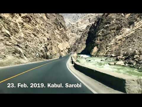 way from sarobi to kabul Afghanistan