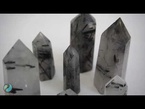 Breakthrough Obstacles with Black Tourmalinated Quartz