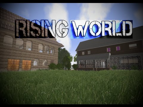 Rising World E43 FPS & Rabbit Hole Cavern Pond