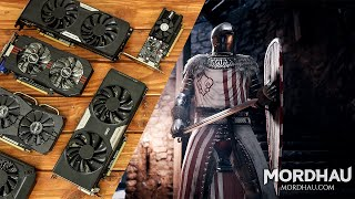 Mordhau Benchmarks with Budget Graphics Cards