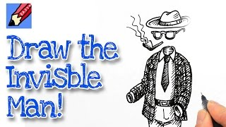 How to draw the invisible man