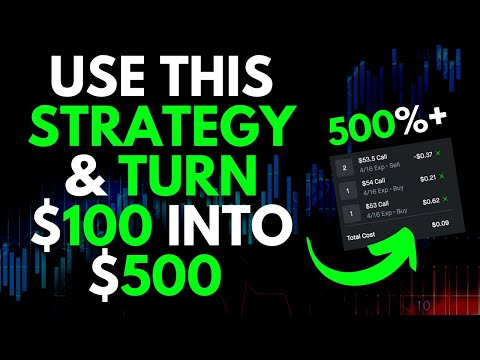 USE THIS VERY CHEAP STRATEGY TO MAKE 500% GAINS! | TRADING OPTIONS